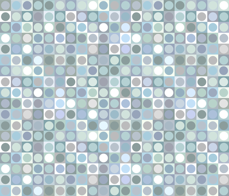 bubblewrap circle squares fabric by weavingmajor on Spoonflower - custom fabric