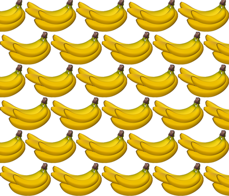 bananas fabric by vos_designs on Spoonflower - custom fabric