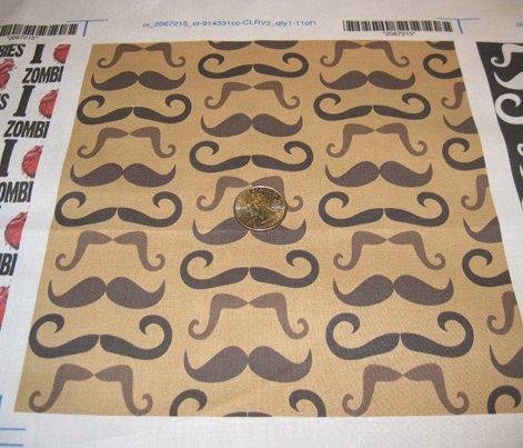 Mustaches -brown