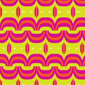 PINK- orange swirls