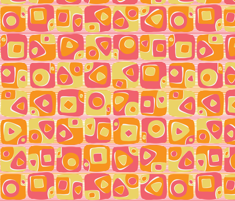 mod sushi fabric by gracedesign on Spoonflower - custom fabric