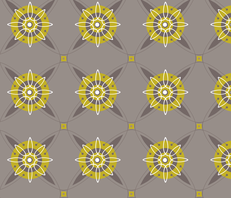 Abibe Medallion fabric by lily_studio on Spoonflower - custom fabric