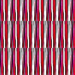 Candy pink and purple stripes