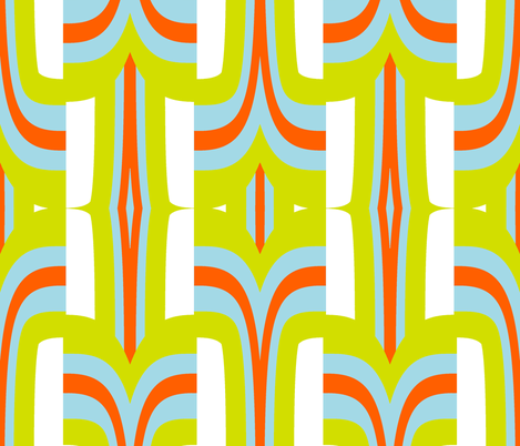 Palm Springs Holiday fabric by fable_design on Spoonflower - custom fabric