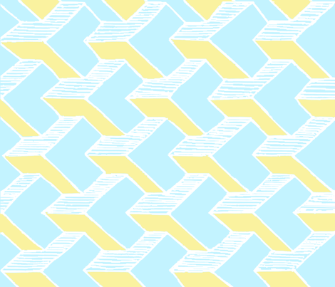 modular fabric by whiteduck on Spoonflower - custom fabric