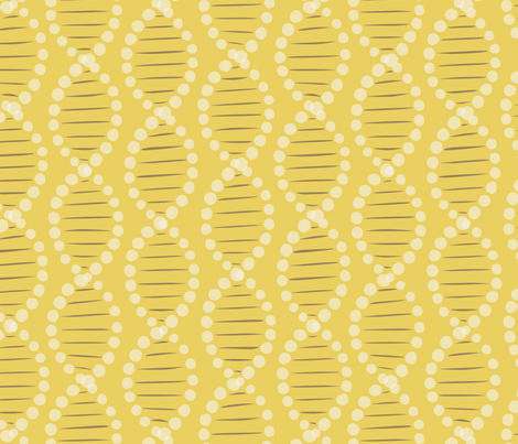 DNA wallpaper fabric by minimiel on Spoonflower - custom fabric