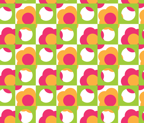 LIN_Mod_Mary fabric by wendy_lin on Spoonflower - custom fabric