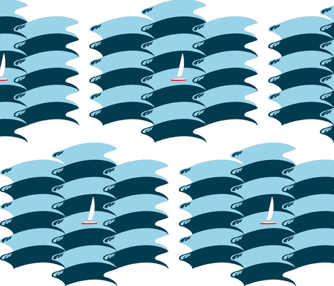 quick sail fabric by dahbeedo on Spoonflower - custom fabric