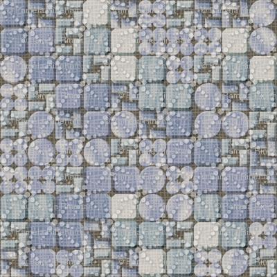 beaded tiles blue ice