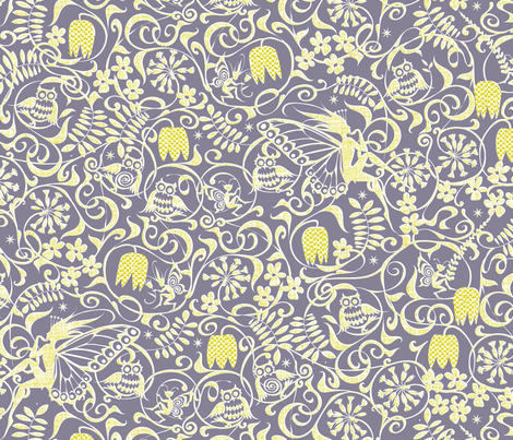 Midsummer Twilight fabric by spellstone on Spoonflower - custom fabric