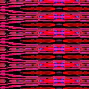 pink stripe motif