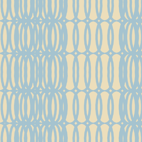 mod fab(smoky sky + cream) fabric by pattyryboltdesigns on Spoonflower - custom fabric