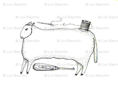 Stitching Sheep