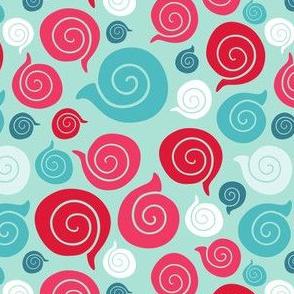 sea shell pattern