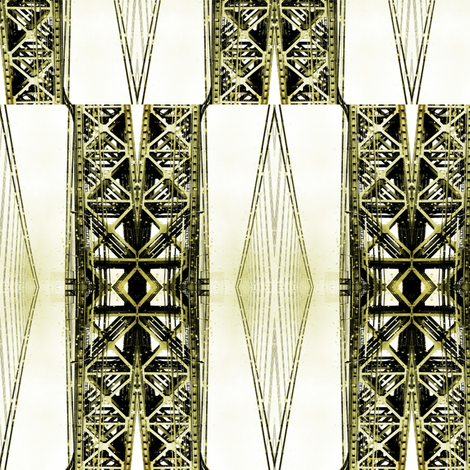 GWB Checkered fabric by relative_of_otis on Spoonflower - custom fabric