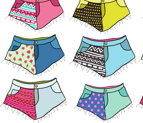 shorts fabric by kostolom3000 on Spoonflower - custom fabric