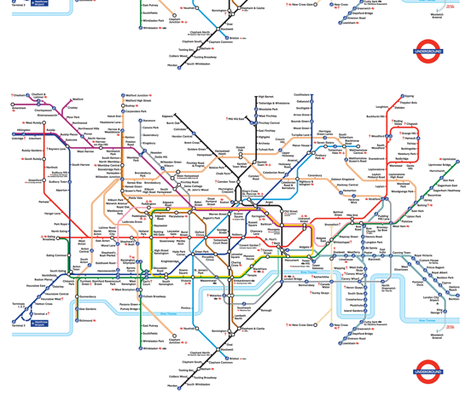 london underground tube map fabric by emma41 on Spoonflower - custom fabric