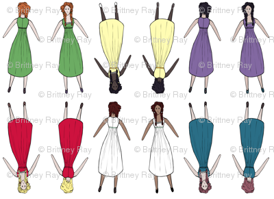 Doll in Six Colors