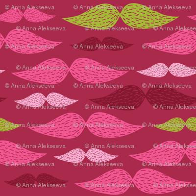 mustache pattern 4