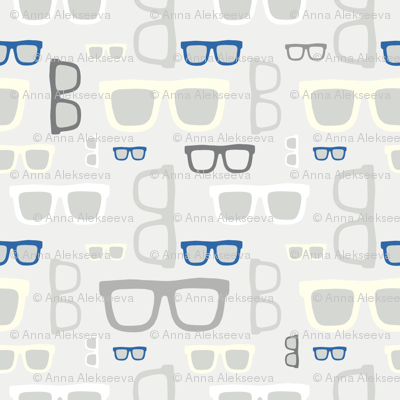 glasses pattern