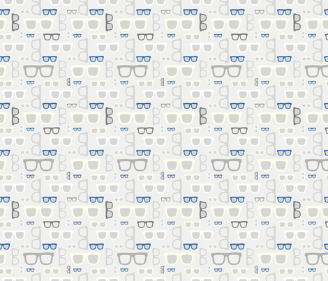 glasses pattern fabric by kostolom3000 on Spoonflower - custom fabric