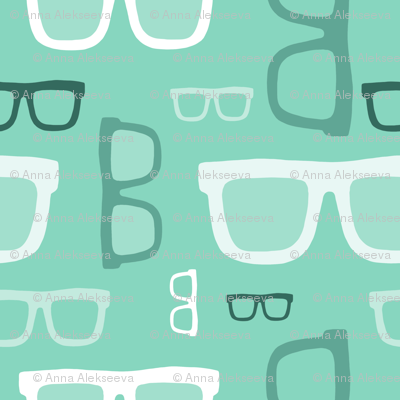 glasses pattern 2