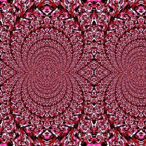 burgandy round rugs