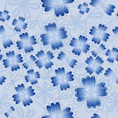 Azure Pearlblossoms (lt.)