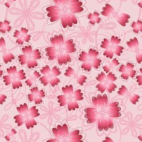 Crimson Pearlblossoms (lt.)