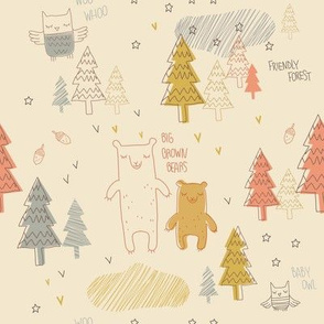 Friendly forest design