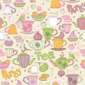 Tea party design
