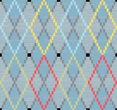 Penny Loafer (8-Bit Blue)