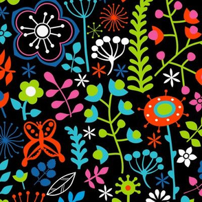 ornate floral seamless texture