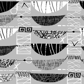 Mod Graphic Black and White