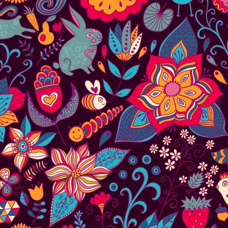 frog fabric by markovka on Spoonflower - custom fabric