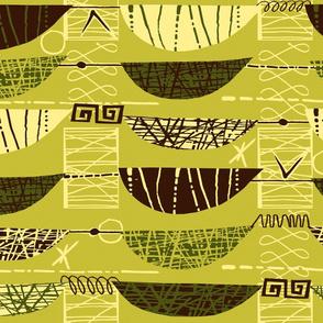 Mod Graphic green