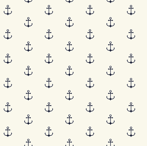 Anchor Small fabric by kimsa on Spoonflower - custom fabric