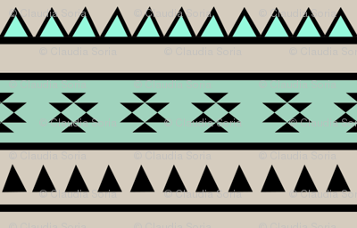 Aztec Mint (Large)