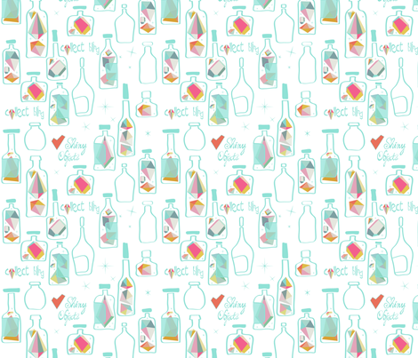 Collect_bling fabric by pragya_k on Spoonflower - custom fabric