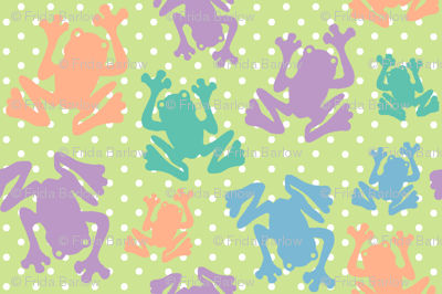 Polka Dot Frogs