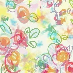 Sweet Flower Pattern 1