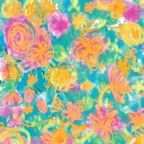 Sweet Flower Pattern 3