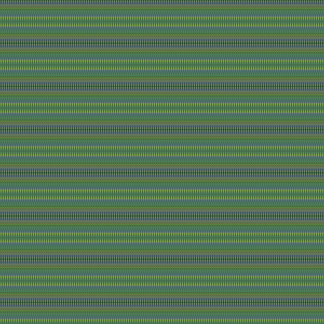 green and blue stripes fabric by dk_designs on Spoonflower - custom fabric