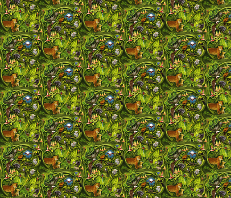 Rainforest fabric by vinpauld on Spoonflower - custom fabric