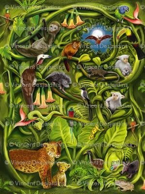 Rainforest Mirror Version