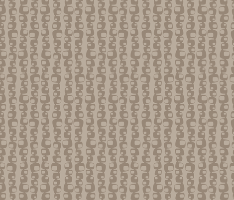 Retro Modern {tan} fabric by printablegirl on Spoonflower - custom fabric