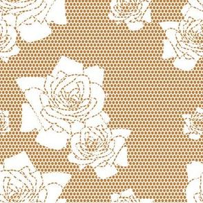 White lace pattern