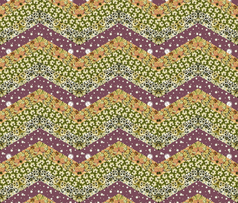 Big_Chevron by Sylvie fabric by art_on_fabric on Spoonflower - custom fabric
