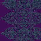 Eggplant Lace - Trim