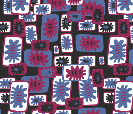 Simple Splash fabric by slumbermonkey on Spoonflower - custom fabric